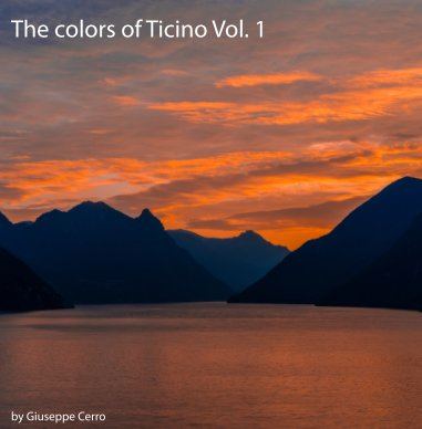 The colors of Ticino Vol.1 book cover