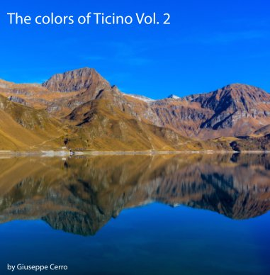 The colors of Ticino Vol.2 book cover