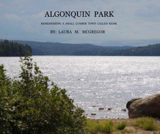 Algonquin Park book cover