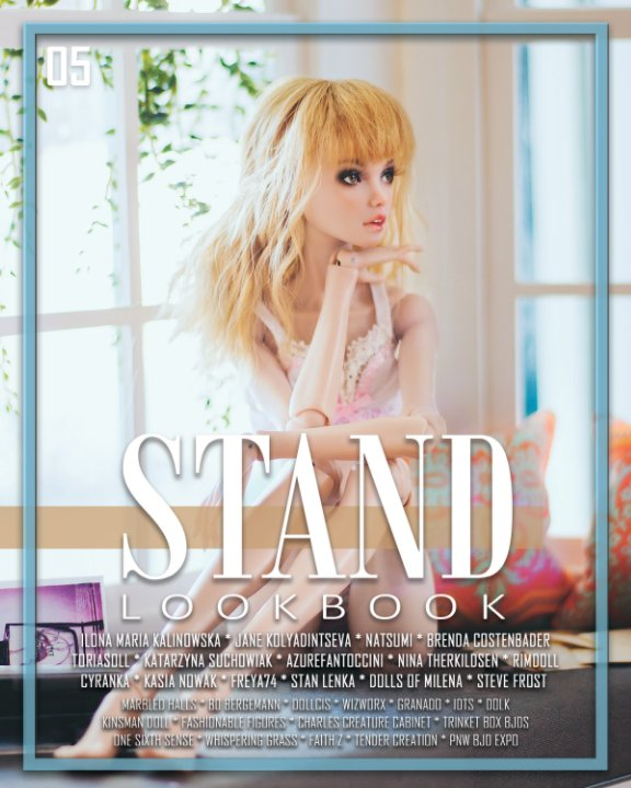 View STAND Lookbook - Volume 5 - Fashion Doll Cover by STAND