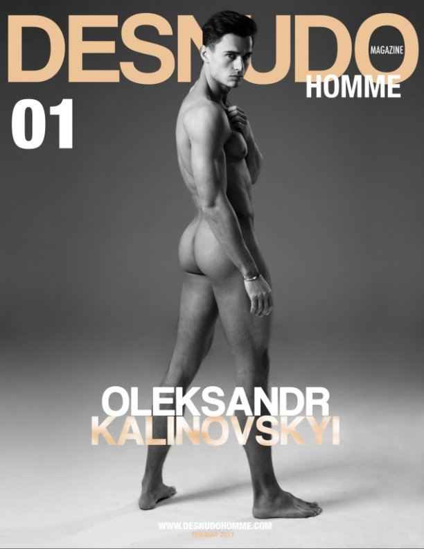 View DESNUDO HOMME cover by Alexandre Eustache by Desmudo Magazine