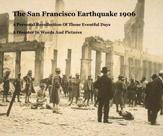 The San Francisco Earthquake 1906 book cover