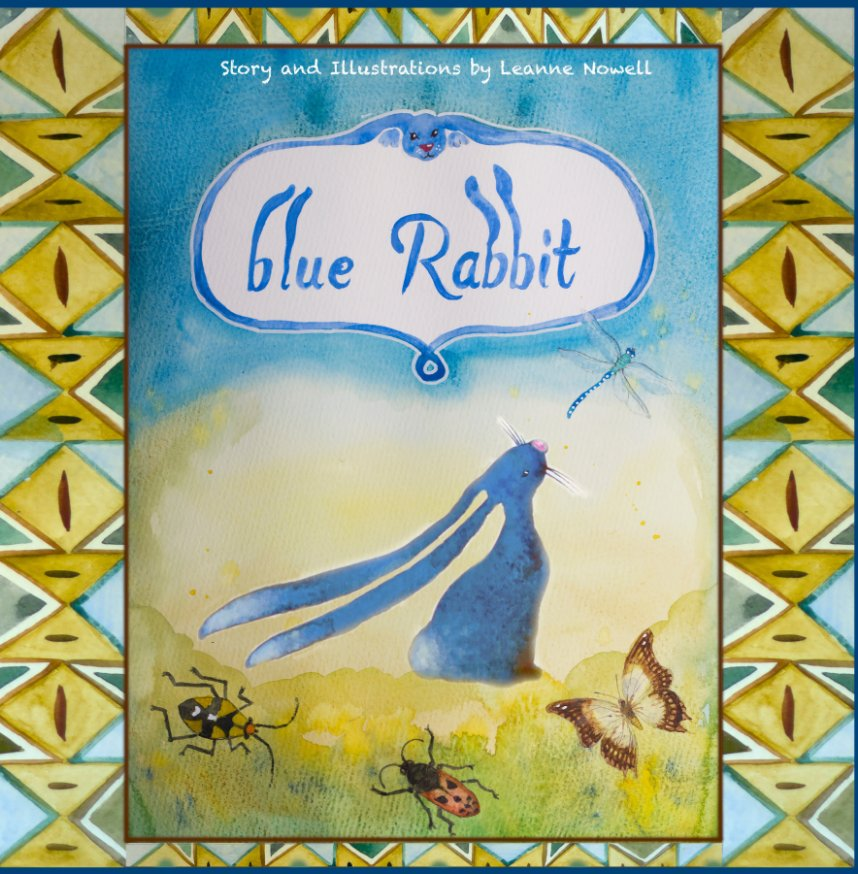 View Blue Rabbit by Leanne Nowell