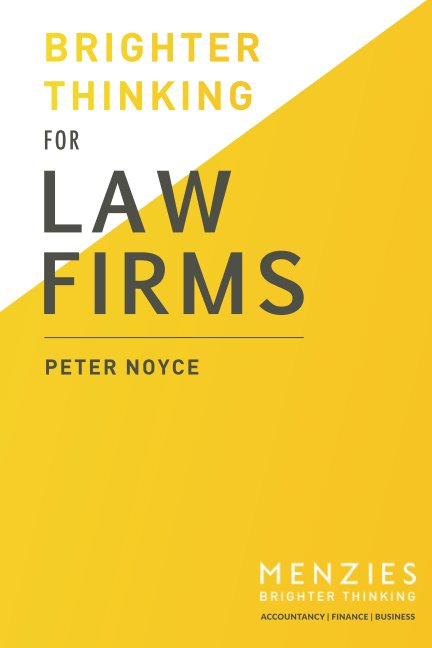 View Brighter Thinking for Law Firms by Peter Noyce