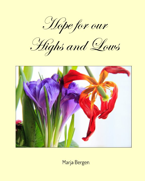 View Hope for our Highs and Lows by Marja Bergen