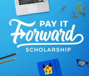 Pay It Forward Scholarship Book Final book cover