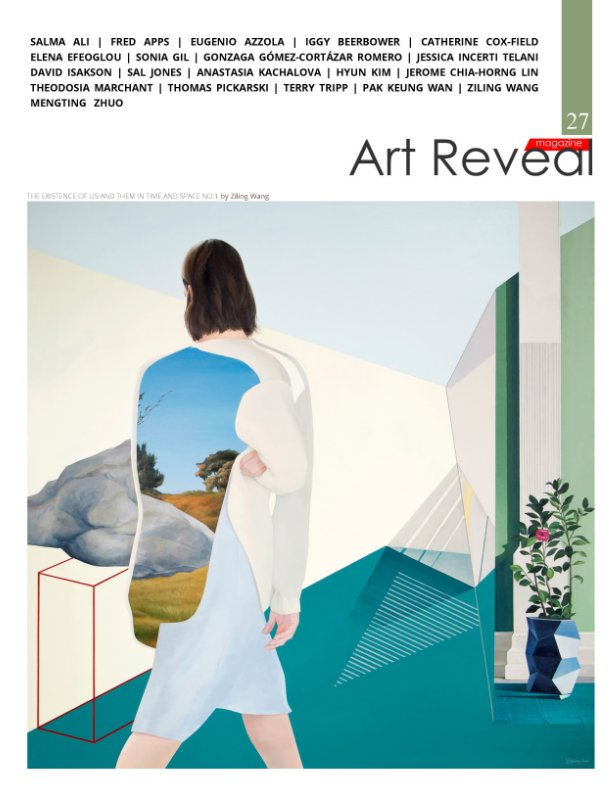 View Art Reveal Magazine #27 by Anne Grahm, Tero Koskinen