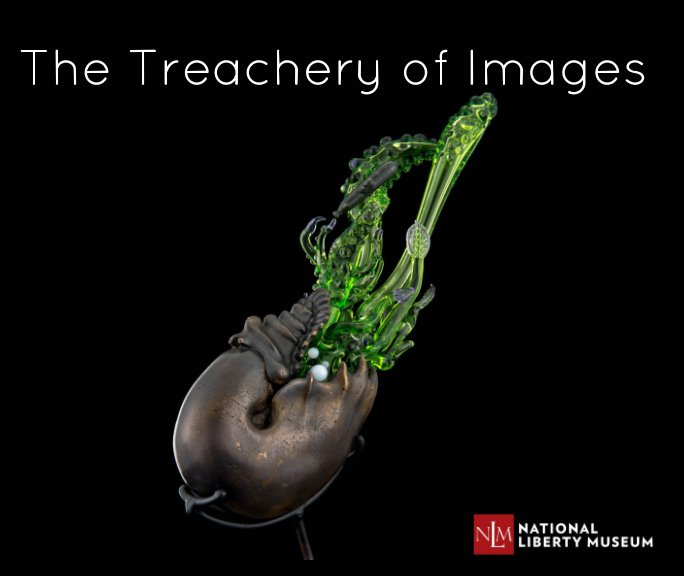 View The Treachery of Images by NLM Glass Access