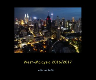 West-Malaysia 2016/2017 book cover