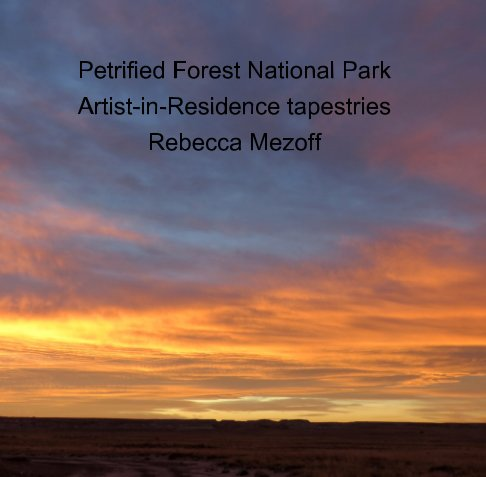 View Petrified Forest National Park A-I-R Tapestries by Rebecca Mezoff