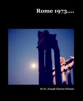 Rome 1973.... book cover