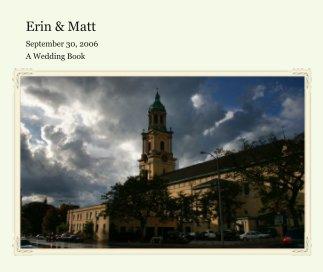 Erin & Matt book cover