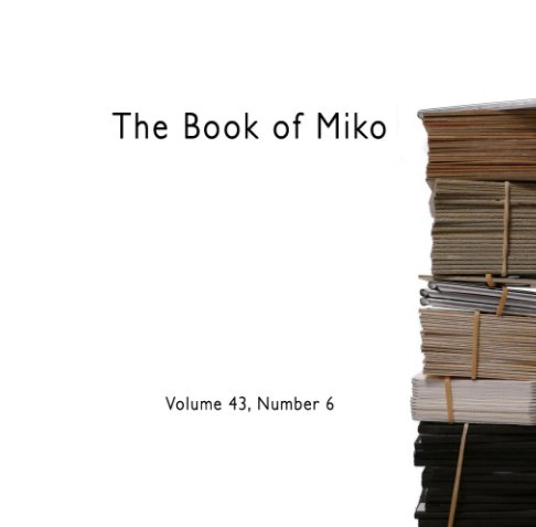 View Book of Miko (Volume 43, number 6) by DW Bailey