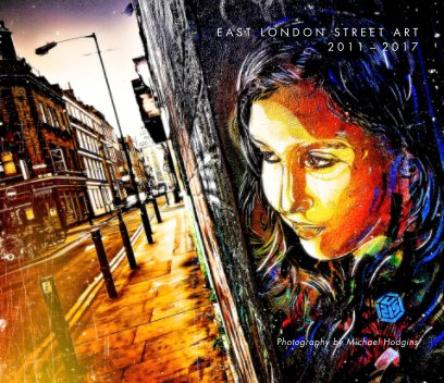 Street art London 2011 to 2017 book cover