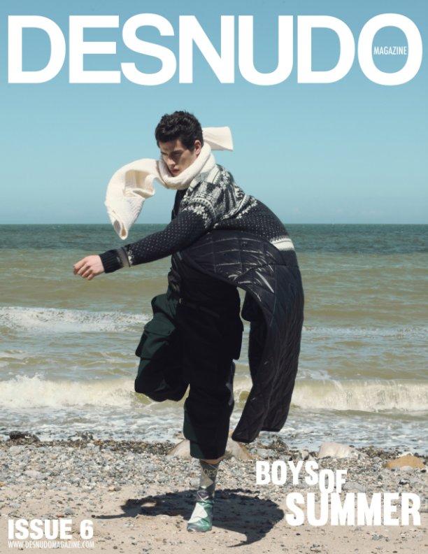 View Desnudo Magazine 6 Bruno Fournier Cover by Desnudo Magazine