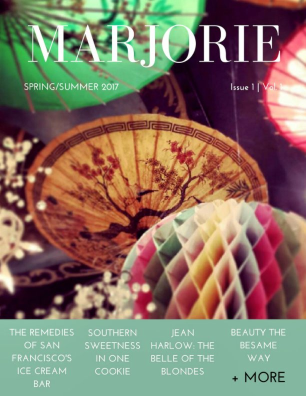 View MARJORIE MAGAZINE by Marjorie Magazine Press