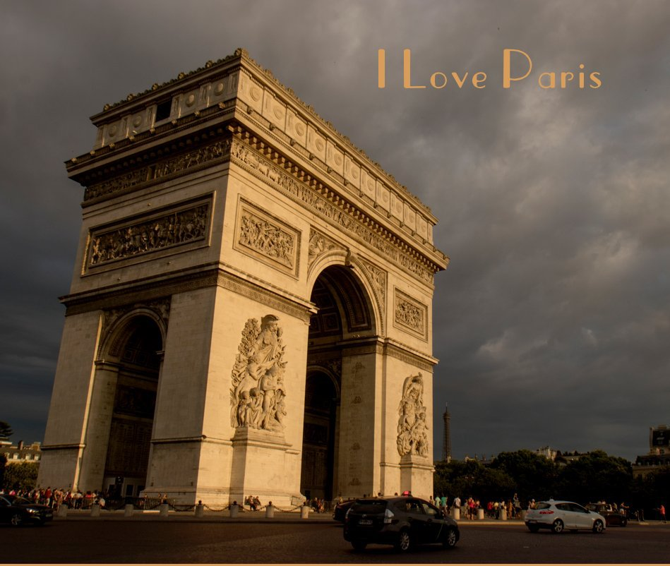 View I Love Paris by Marylou Badeaux