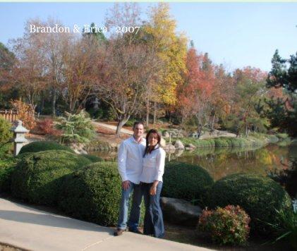 Brandon & Erica   2007 book cover