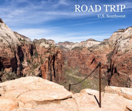 United States Southwest National Parks book cover
