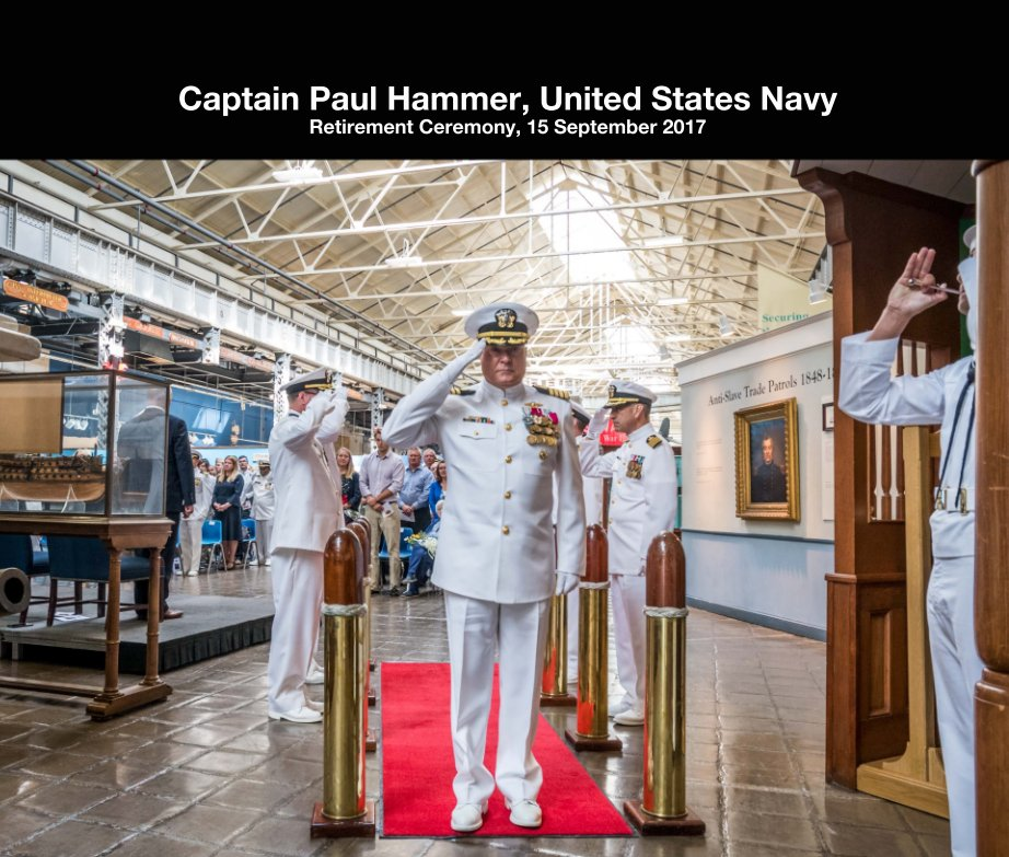 View Captain Paul Hammer, United States Navy by Laura Hatcher Photography