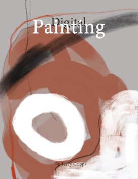Digital painting book cover