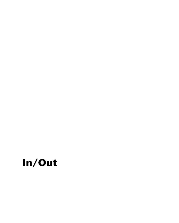 View In/Out by Anna Pickles Harvey