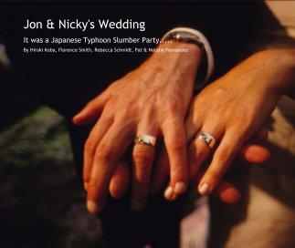 Jon & Nicky's Wedding book cover