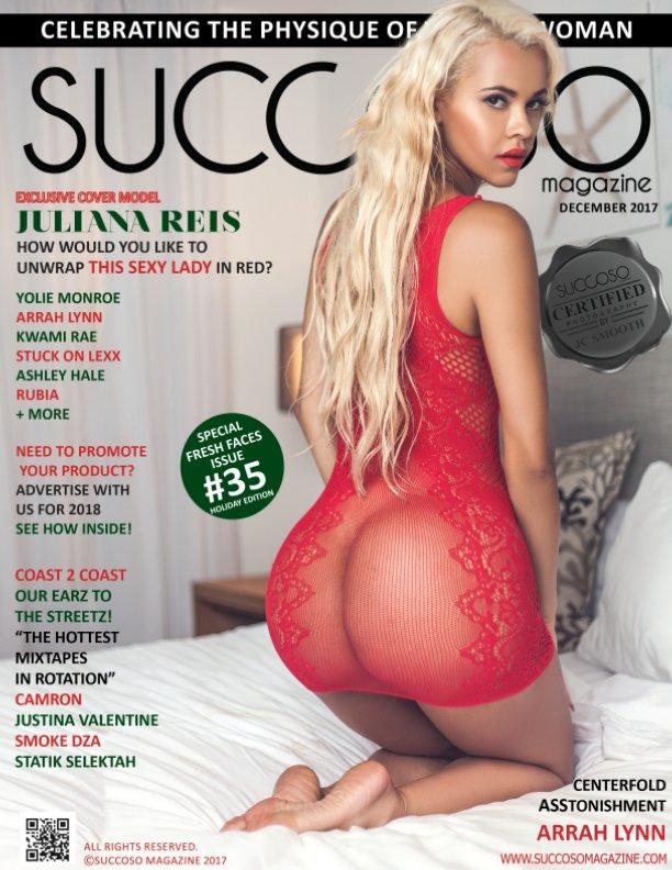 View SUCCOSO MAGAZINE DECEMBER 2017 DOUBLE COVER MODELS KWAMI RAE /JULIANA REIS by SUCCOSO MAGAZINE