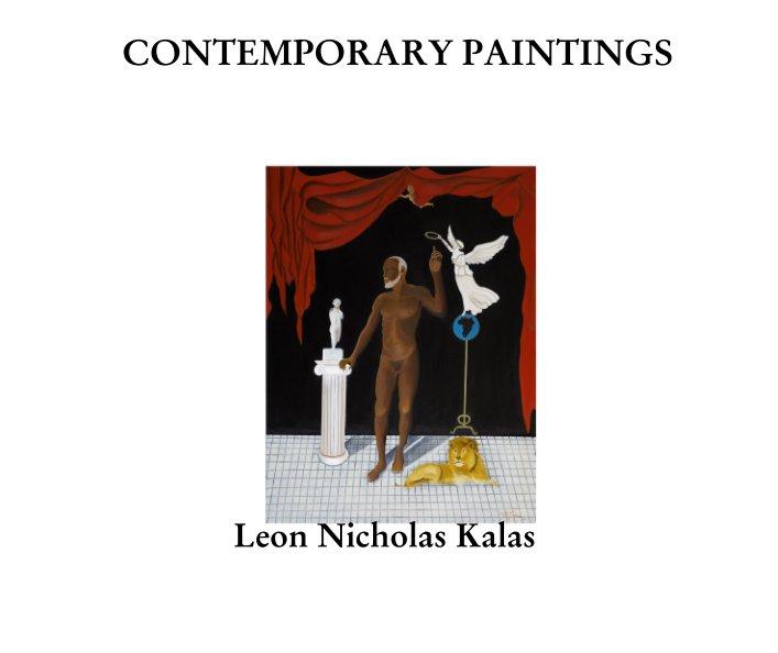 View CONTEMPORARY PAINTINGS by Leon Nicholas Kalas