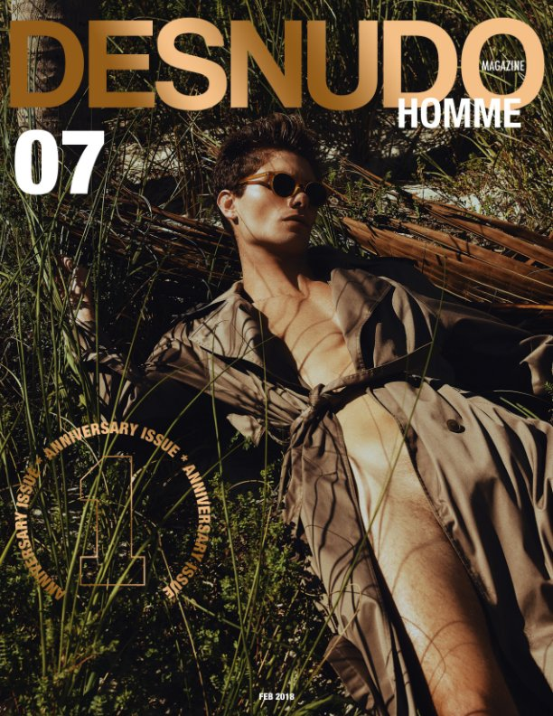 View Desnudo Homme Issue 7 by Desnudo Magazine