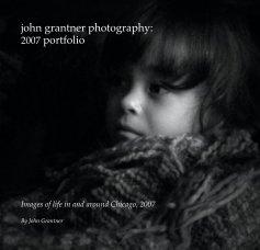 john grantner photography: book cover