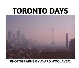 Toronto Days book cover