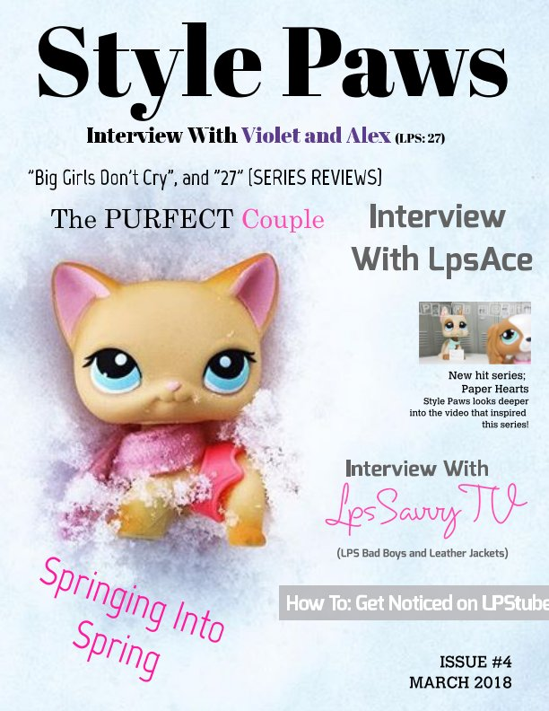 View Style Paws Magazine #4  March 2018 by SPM Staff