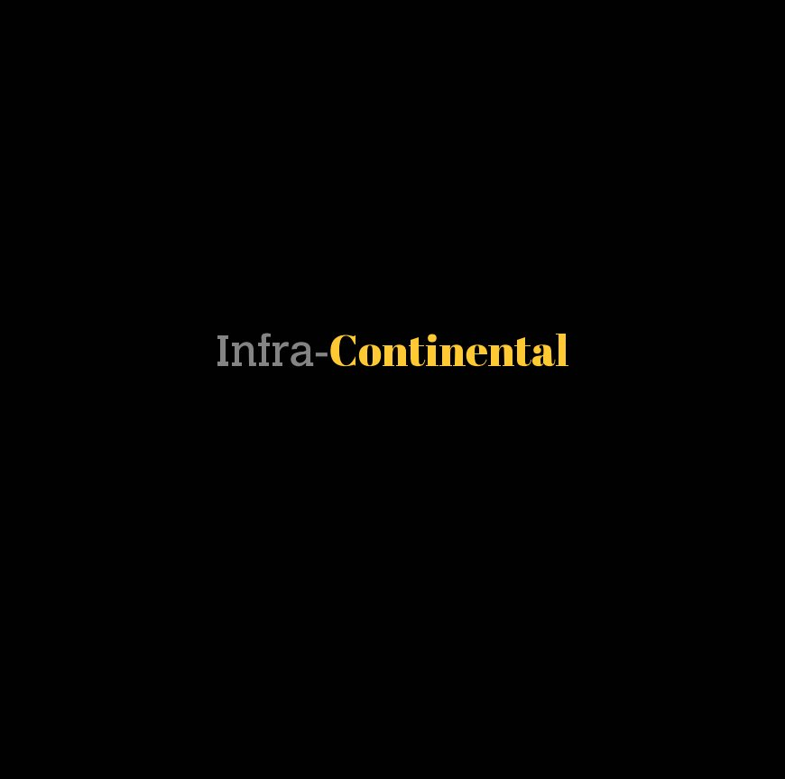 View Infra-Continental (Hardcover) by Gareth Sell
