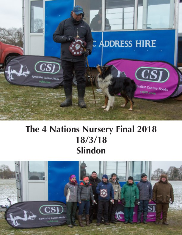 View The 4 Nations Nursery Final 2018 by Sarah Walker and Nick Onslow