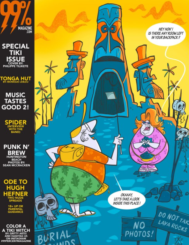 View 99 Percent Magazine SPECIAL TIKI ISSUE by BILLY BEANS SKELLY