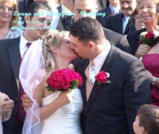 Laura and Anargiros' Wedding book cover