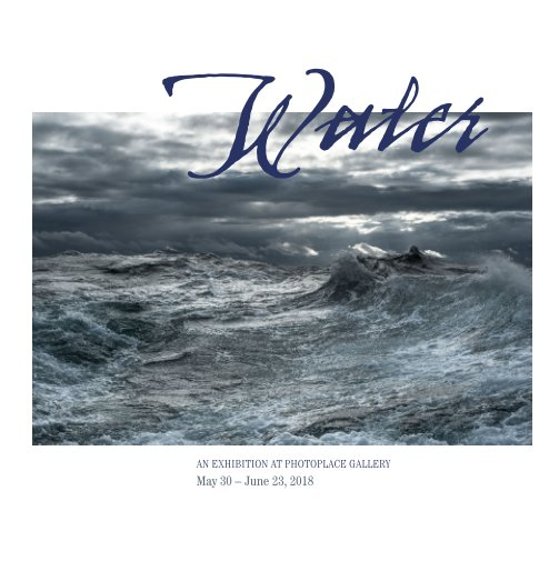 View Water, Hardcover Imagewrap by PhotoPlace Gallery