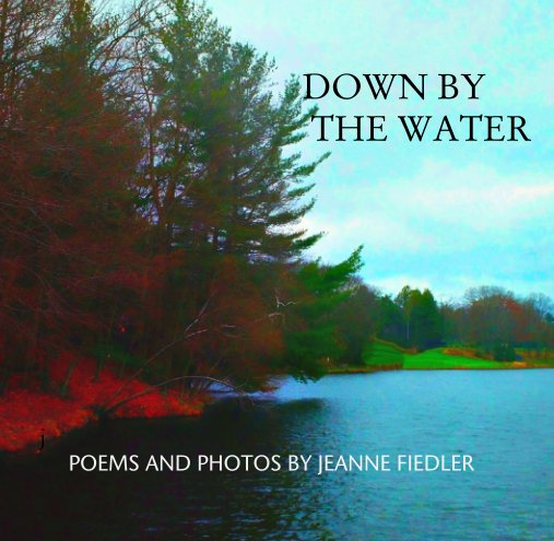 View Down By the Water by JEANNE FIEDLER