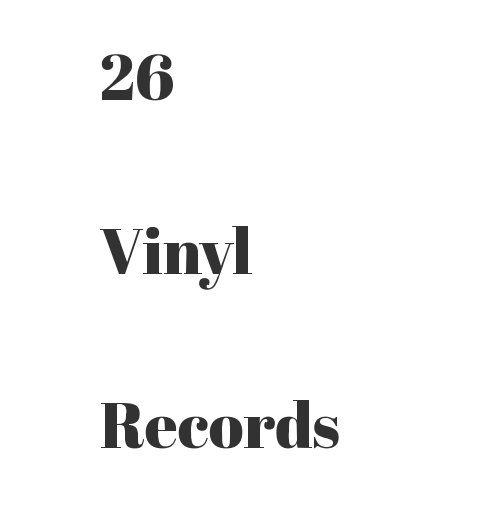 View 26 Vinyl Records by Mick Yates