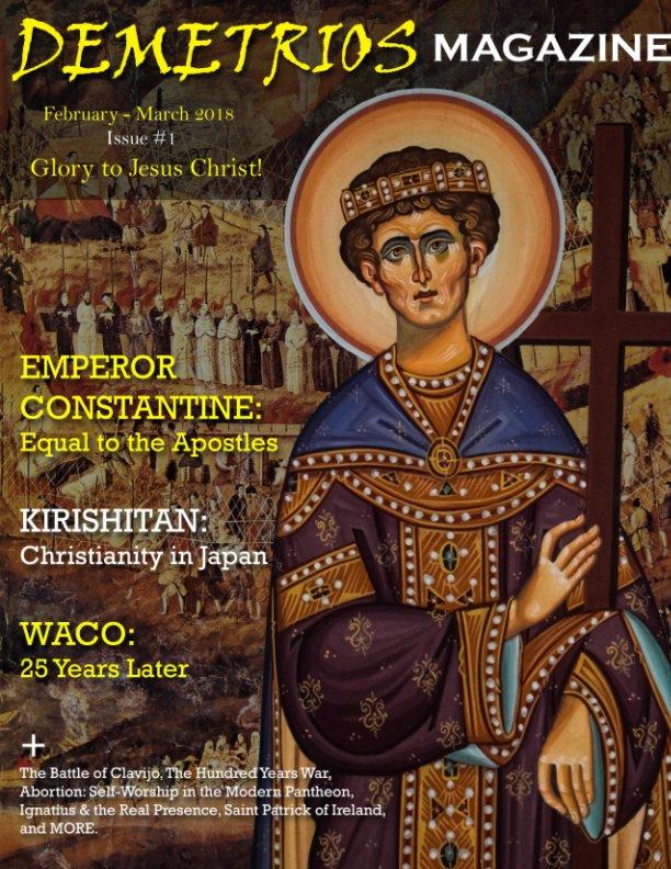 View Demetrios Magazine (February-March 2018) Issue #1 by Demetrios Press
