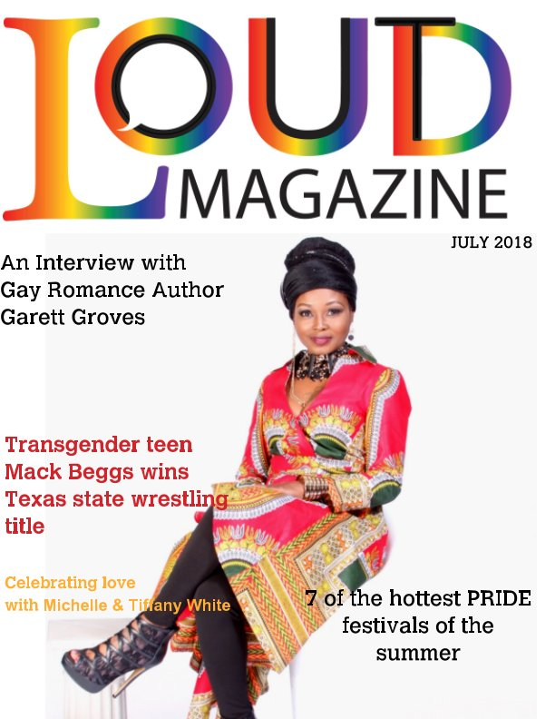 View July_2018_ issue by Tyra Hairston