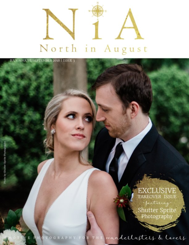 View North in August Magazine - Issue 3 by Amandamarie Gillen