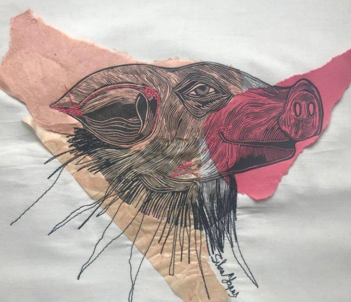 Bekijk Grabado & Collage & Cocido op Silvia Yapur