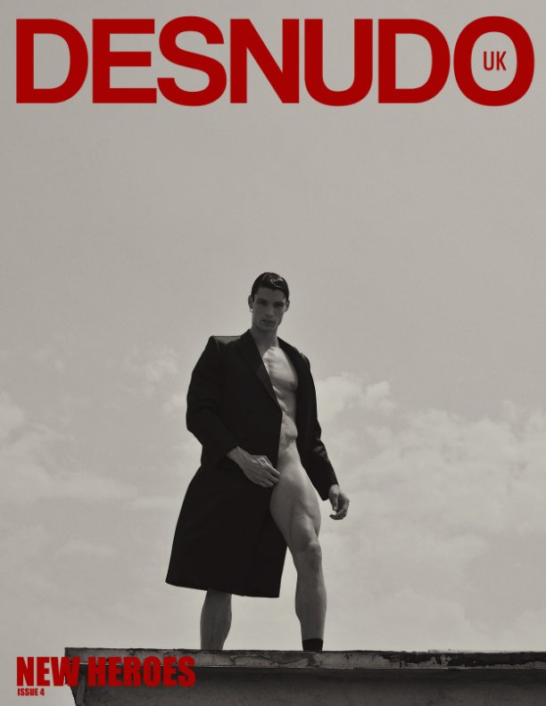View Desnudo magazine UK ISSUE 4 (cover 3) by Desnudo Magazine