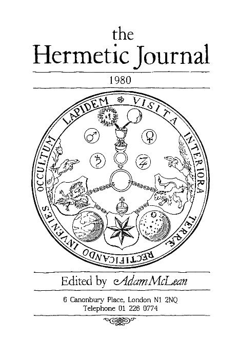 View The Hermetic Journal 1980 by Adam McLean