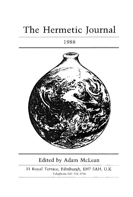 View The Hermetic Journal 1988 by Adam McLean