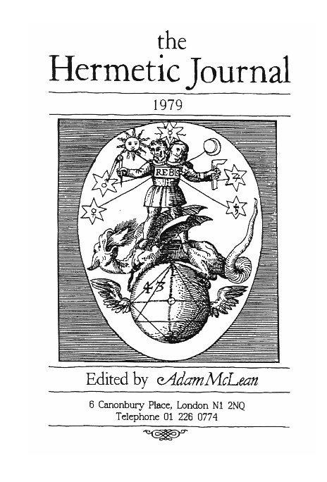 View The Hermetic Journal 1979 by Adam McLean