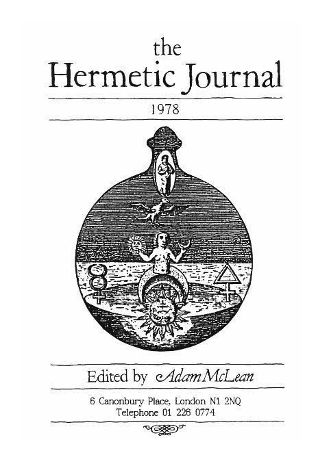 View The Hermetic Journal 1978 by Adam McLean