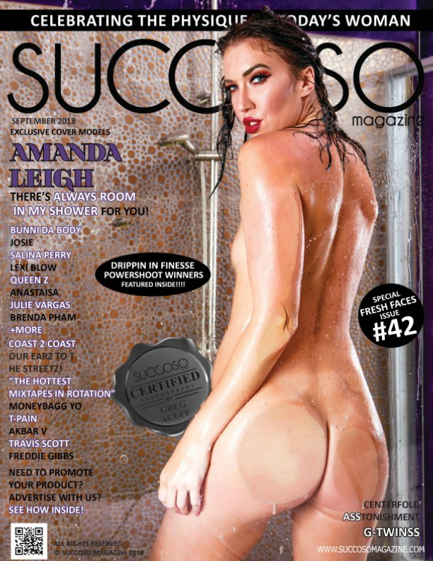View Succoso Magazine Issue #42 featuring Cover Models Amanda Leigh / Lexi Blow by SUCCOSO MAGAZINE